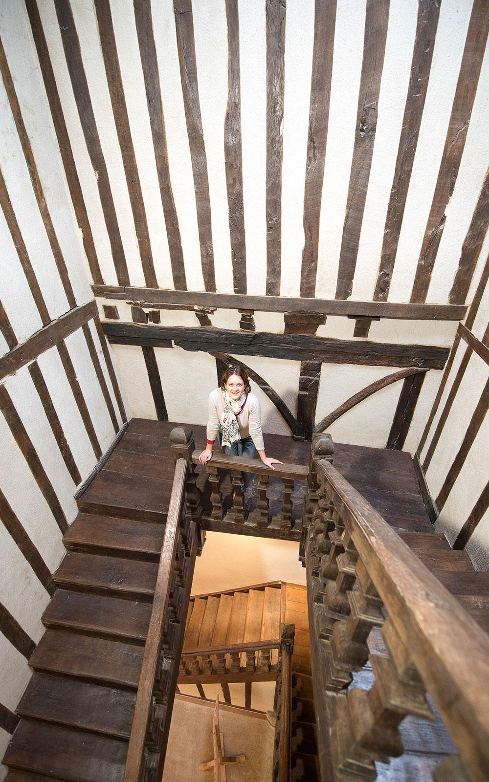 L'escalier avec elodie lang