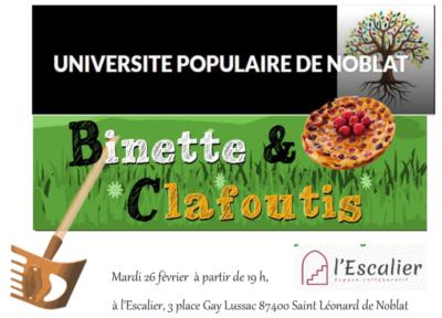 Binette et Clafoutis