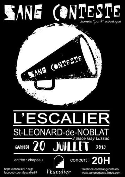 concert Sang Conteste