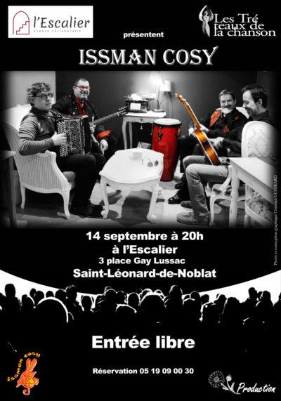 Issman Cosy en concert
