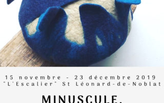 "Expo-vente ""Minuscule, traduction feutrée"""
