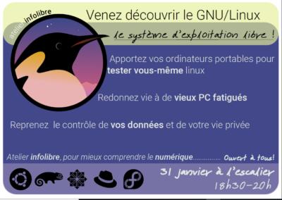 Atelier Infolibre GNU Linux