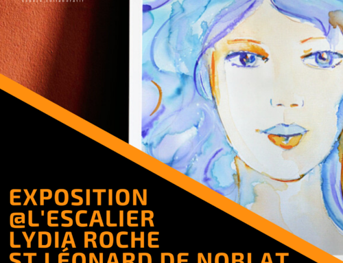 """Vernissage de l'exposition """"Atmosphères colorées"""" par Lydia Roche, le 7 août"""