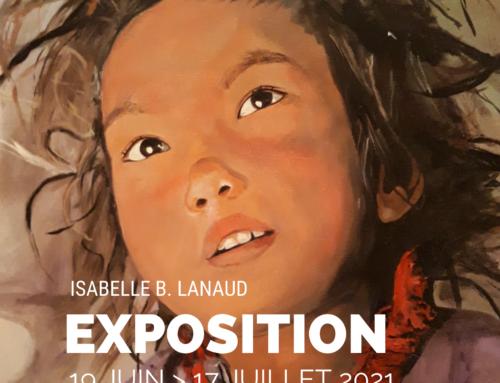 Exposition de peinture Isabelle B. Lanaud jusqu'au 17 juillet