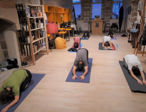 Yoga avec Fabien le lundi soir