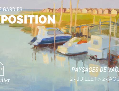 """Exposition de peinture Roche Gardies : """"Paysages de vacances"""", du 23 juillet au 23 août"""