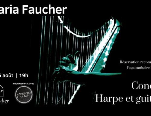 Concert de Maria Faucher le 25 août