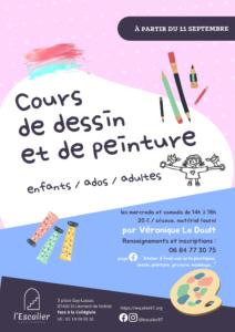 Cours de dessin et de peinture