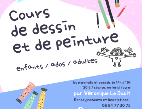 Cours de dessin et de peinture avec V. Le Dault