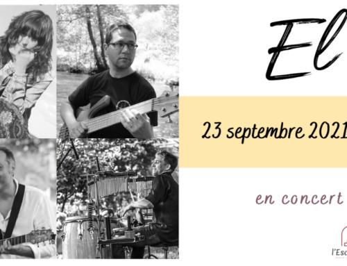 EL en concert le 23 septembre