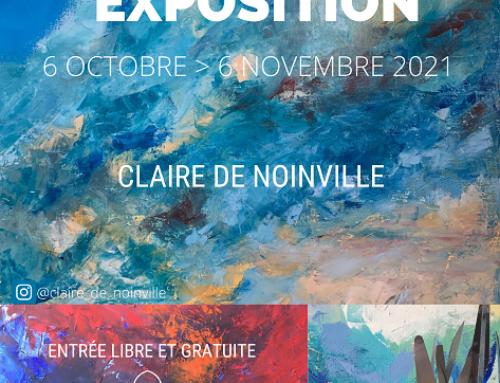"""Exposition """"Mondes en devenir"""", par Claire de Noinville, jusqu'au 6 novembre"""